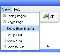Photo Books software - Show Book Monitor