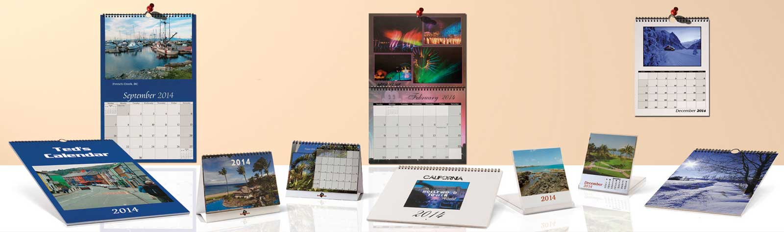 Personalized Calendars are Fun & Functional